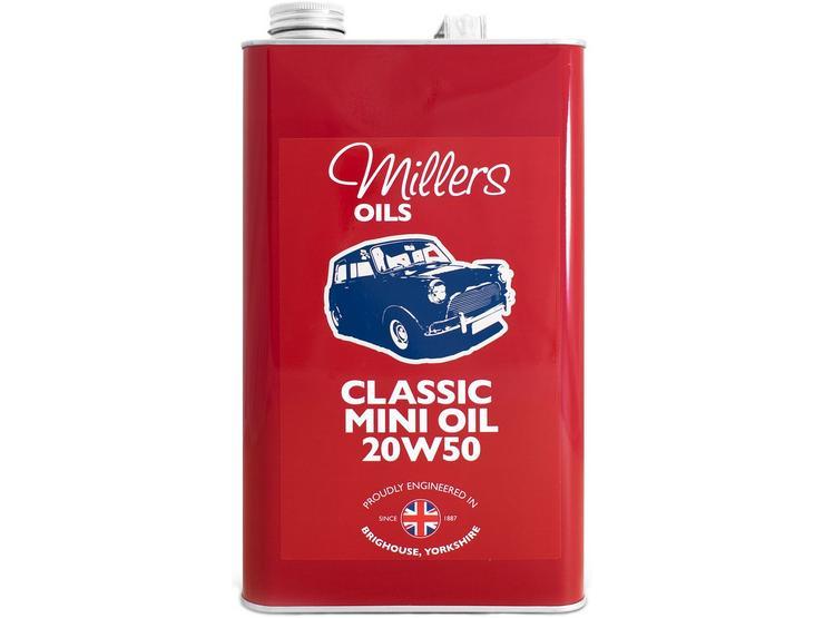 Millers Oils Classic Mini 20W50 Engine Oil - 5L