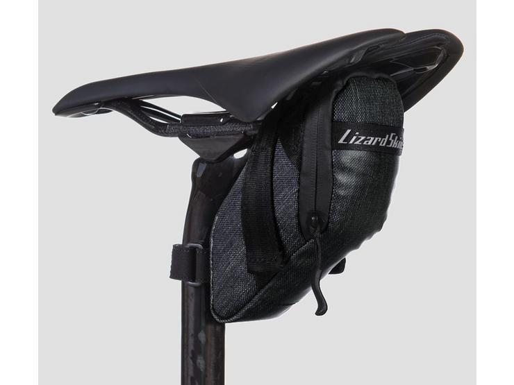 Lizard Skins Cache Saddle Bag - Jet Black
