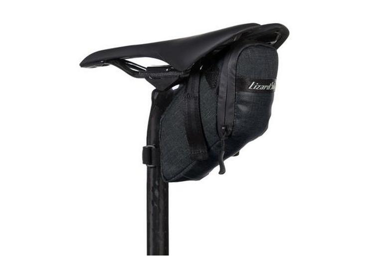 Lizard Skins Super Cache Saddle Bag - Jet Black