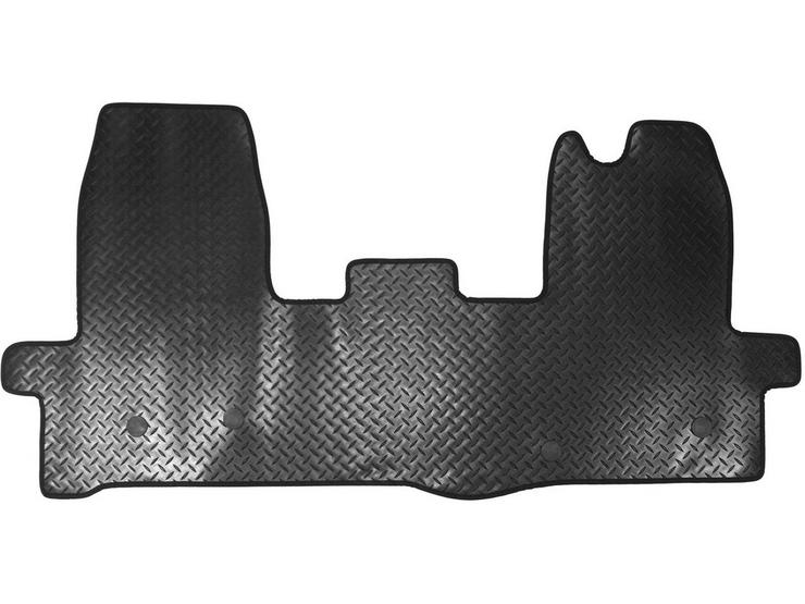 Halfords Ford Transit - Rubber Van Mat 4 Clips (WW5052)