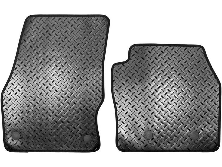 Halfords Ford Transit Connect - Rubber Van Mats 4 Clips (WW57166)