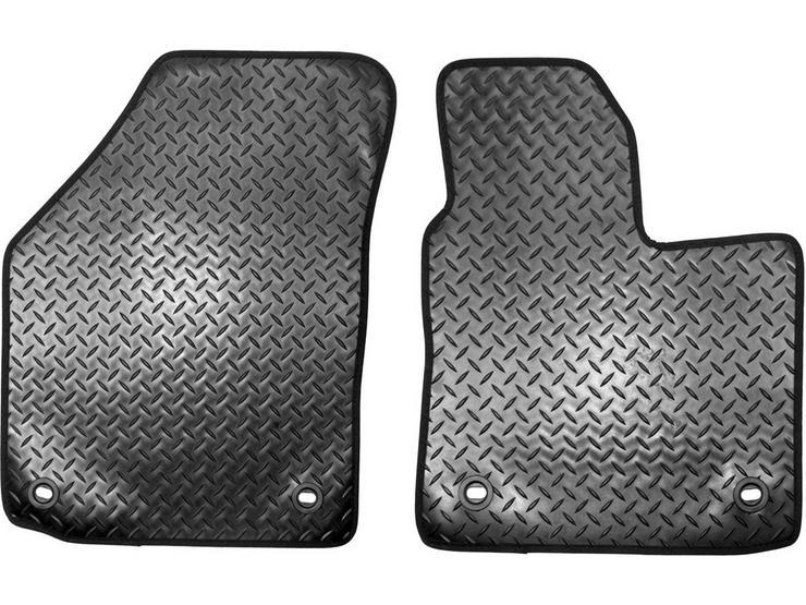 Halfords Citroen Berlingo - Heavy Duty Carpet Van Mat 2 Clips (SS3400)