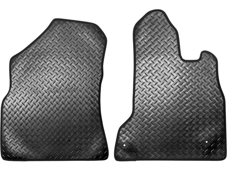 Halfords Peugeot Partner - Rubber Van Mat 2 Clips (SS7028)