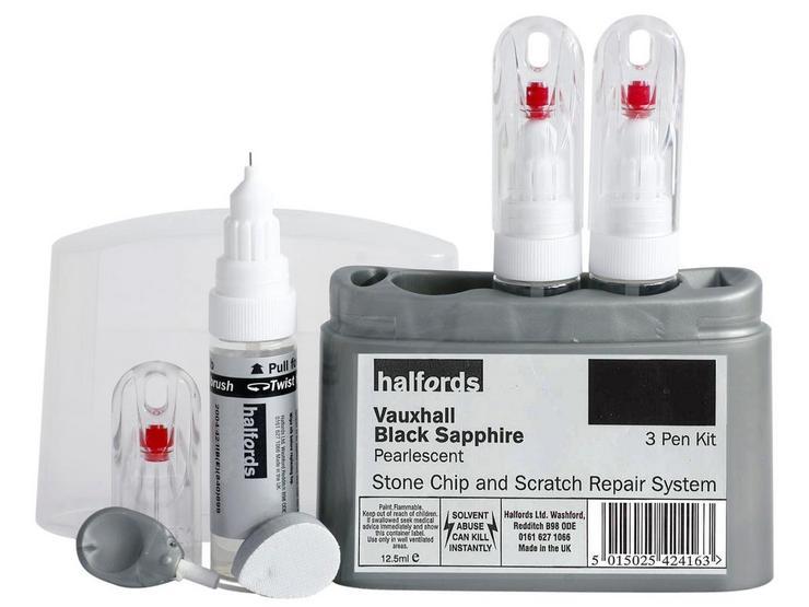 Halfords Vauxhall Black Sapphire Scratch & Chip Repair Kit
