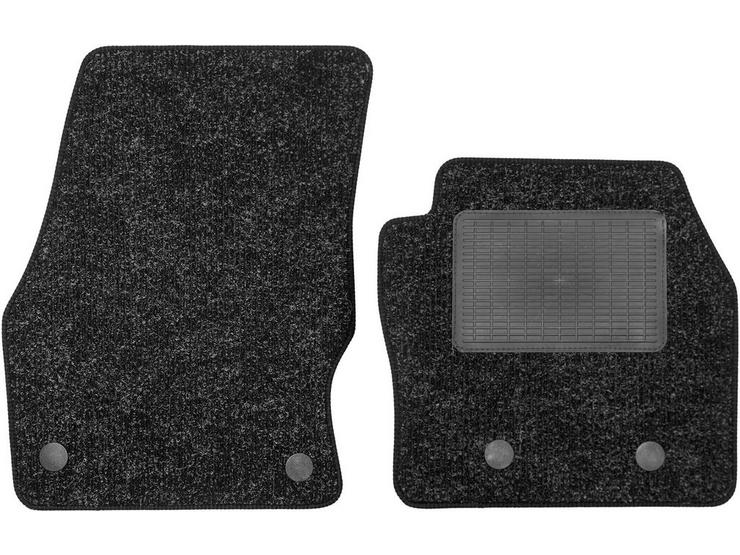 Halfords Ford Transit Connect - Heavy Duty Carpet Van Mat 4 Clips (WW7165)