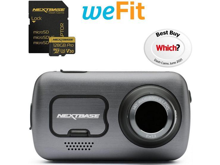 Nextbase 622GW Dash Cam, SD Card & Fit Bundle