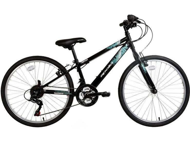"Apollo Vortice Junior Hybrid Bike - 24"" Wheel"