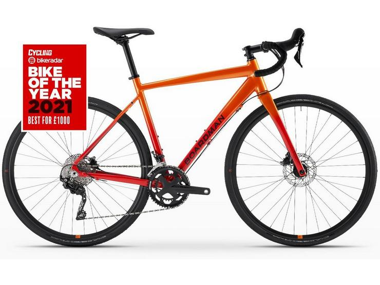 Boardman ADV 8.9 Mens Adventure Bike 2021 Orange - S, M, L, XL Frames