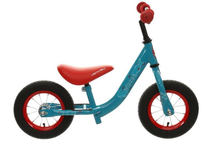 "Apollo Wizzer Balance Bike Blue - 10"""