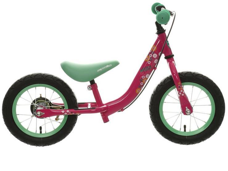 "Apollo Wizzer Balance Bike Pink - 12"""