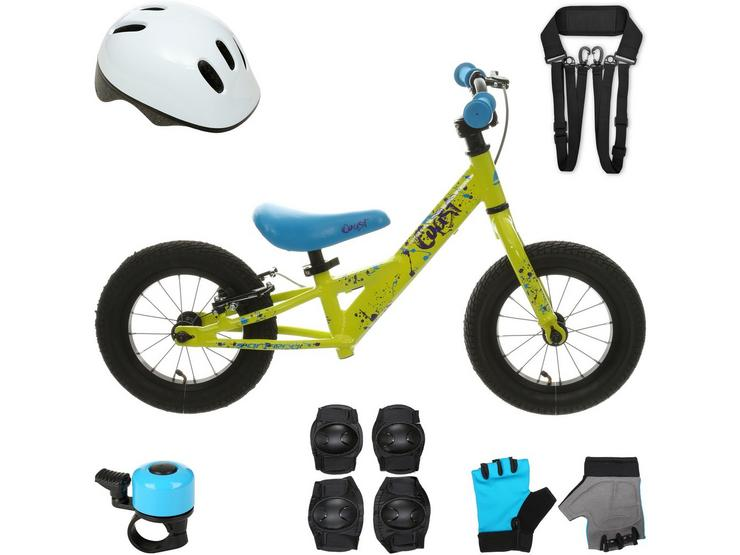 Carrera Coast Balance Bike and your must have accessories