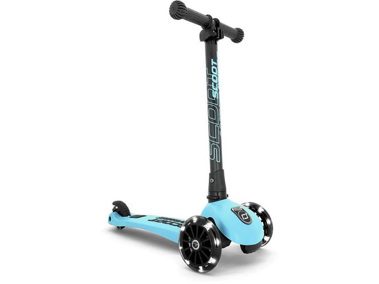 Scoot & Ride Highway Kick 3 LED Scooter - Blueberry