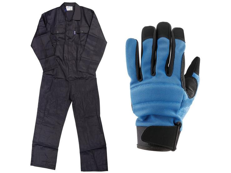 Work Gloves and Overall Workwear Bundle