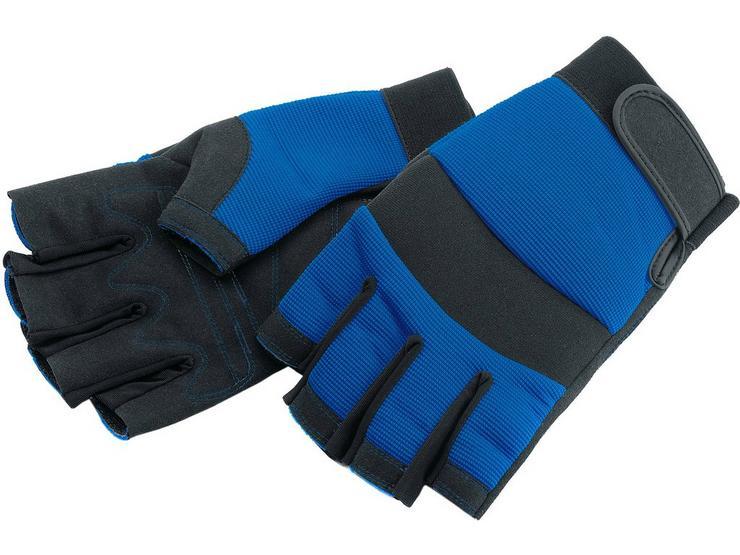Draper Fingerless Work Gloves Large