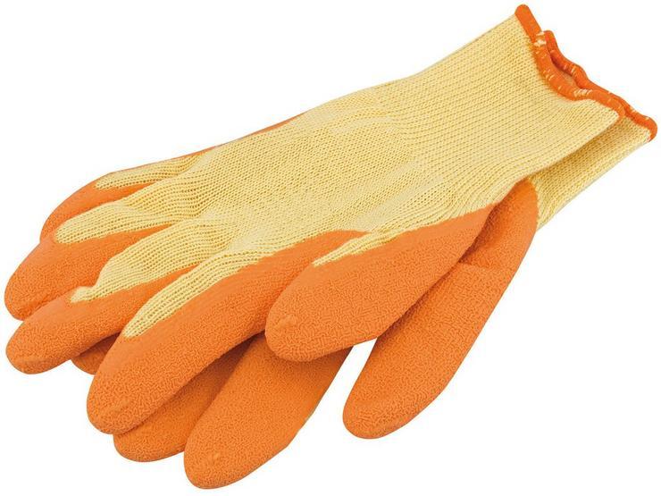 Draper Heavy Duty Latex Coated Gloves