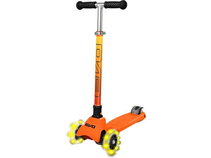 EVO+ Cruiser Kids Scooter with LED Wheels - Orange