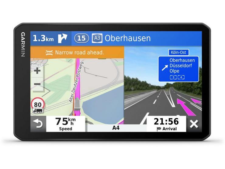 """Garmin Dezl LGV700 7"""" Truck Sat Nav with Full Europe Maps"""