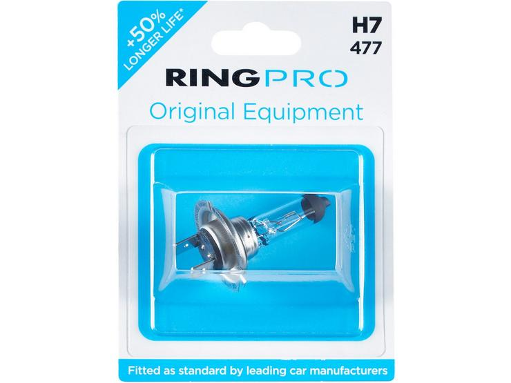 RING PRO 477 H7 Headlight Bulb Single Pack