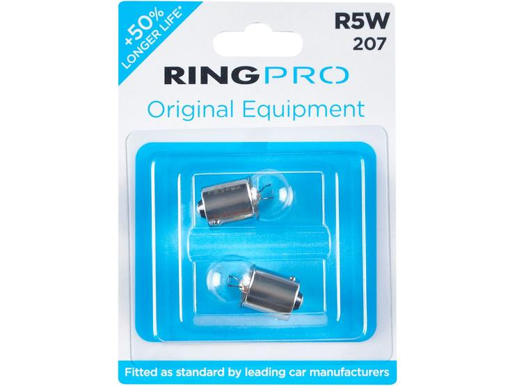Ring Pro 207s R5W Car Bulb Twin Pack