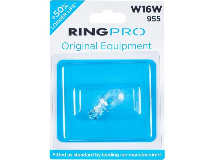 Ring Pro 955 W16W Car Bulb Single Pack