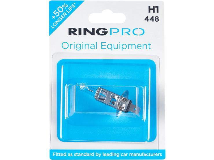 Ring Pro H1 448 Car Headlight Bulb Single Pack
