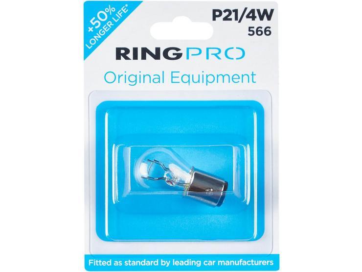 Ring Pro 566 P21/4W Car Bulb Single Pack