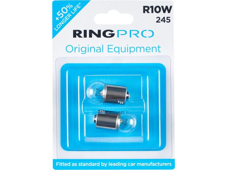 Ring Pro 245s R10W Car Bulb Twin Pack