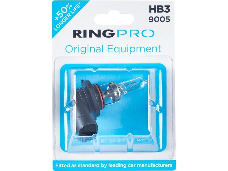Ring Pro HB3 9005 Car Headlight Bulb Single Pack