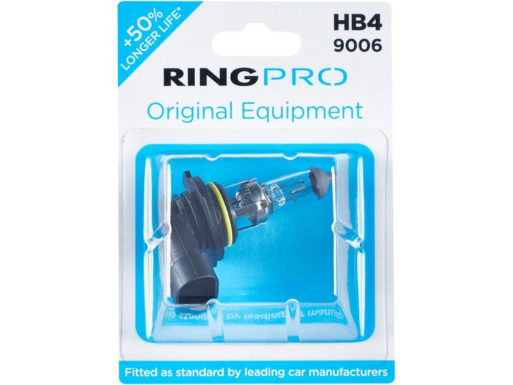 Ring Pro HB4 9006 Car Headlight Bulb Single Pack