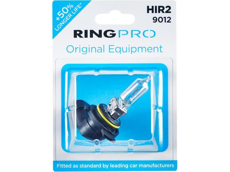 Ring Pro HIR2 9012 Car Headlight Bulb Single Pack