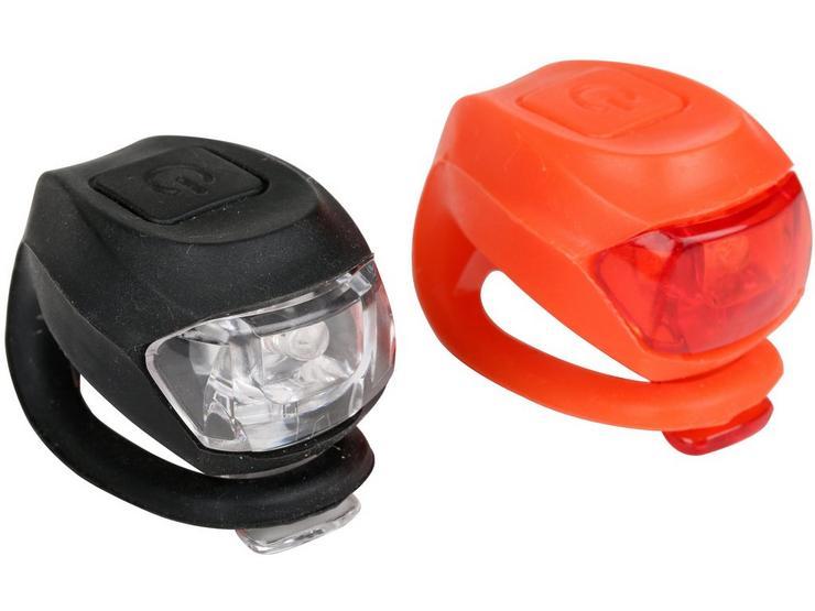 Halfords Super Slim Bike Light Set