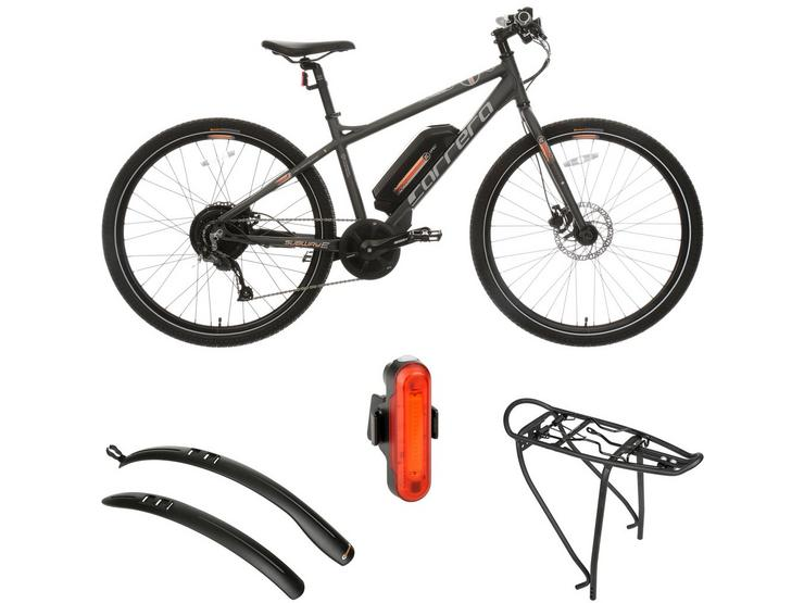 Carrera Subway Womens Electric Bike and Must Have AccessoriesBundle