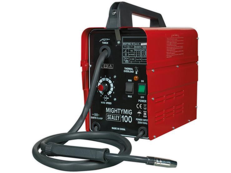 Sealey No-Gas MIG Welder 100Amp 230V