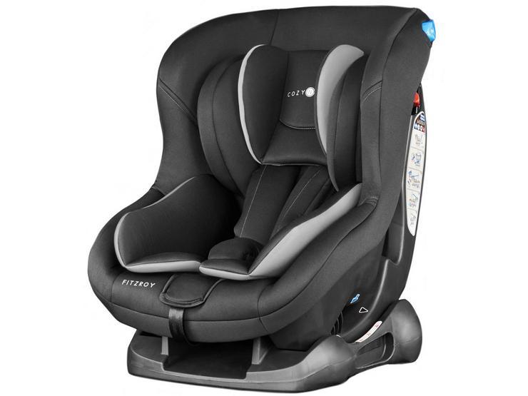 Cozy N Safe Fitzroy Group 0+/1 Child Car Seat – Black/Grey