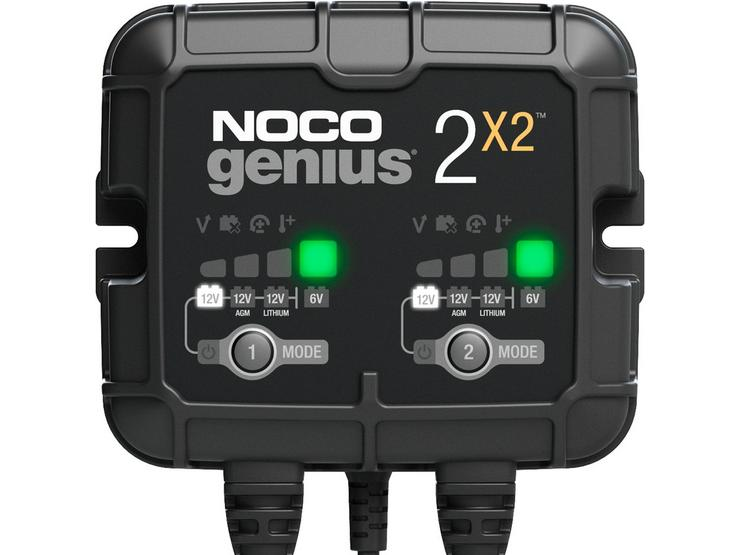 NOCO 4A 2-Bank Battery Charger