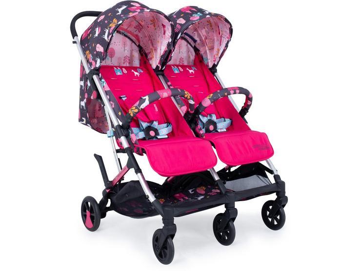 Cossato Woosh Double stroller - Unicorn Land