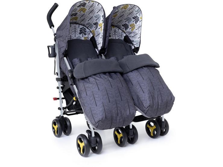 Cosatto Supa Dupa Twin Stroller - Fika Forest