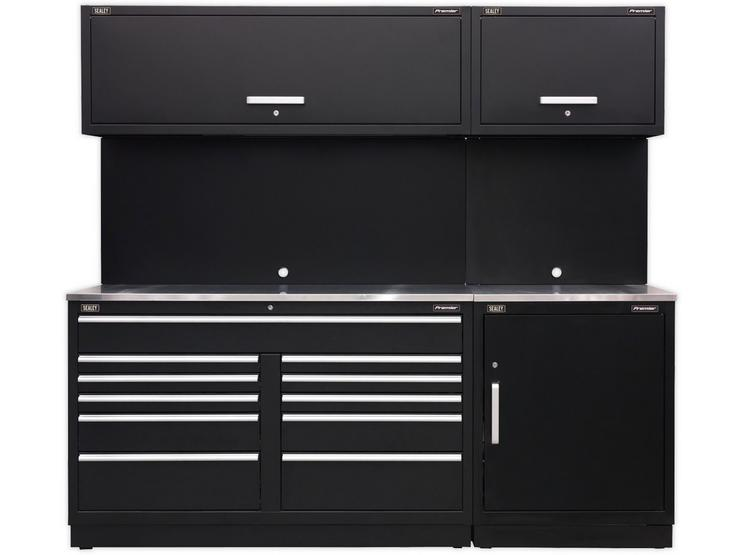 Sealey Premier Modular Storage with Stainless Steel Worktop
