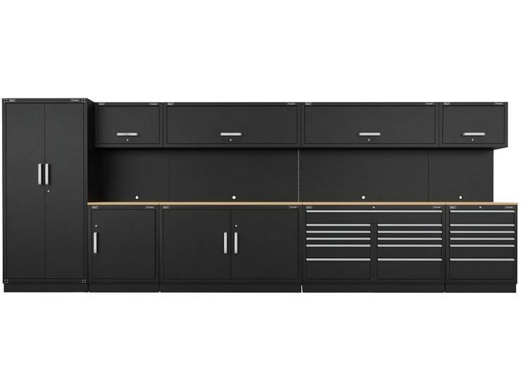 Sealey Premier Complete Storage unit with Oak Worktop