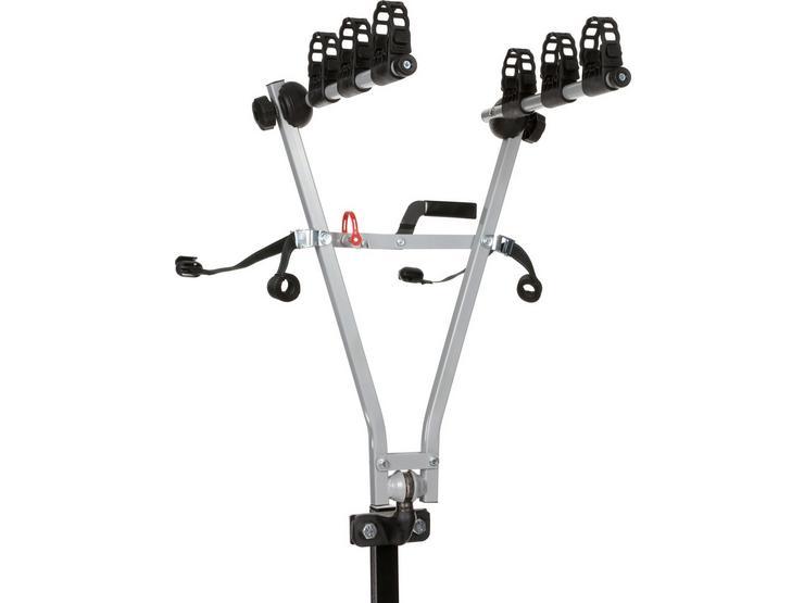 Halfords 3 Bike Tow Bar Clip On Bike Rack