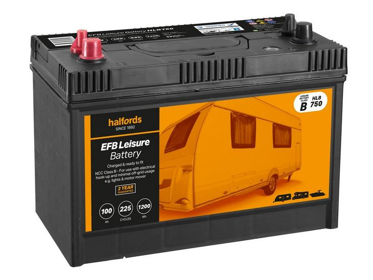 Halfords Leisure Battery HLB750