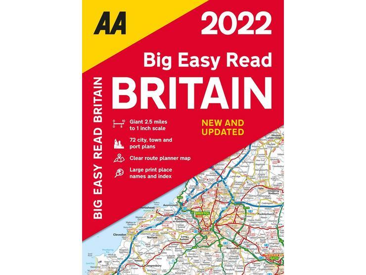 Big Easy Read Atlas Britain 2022 sp