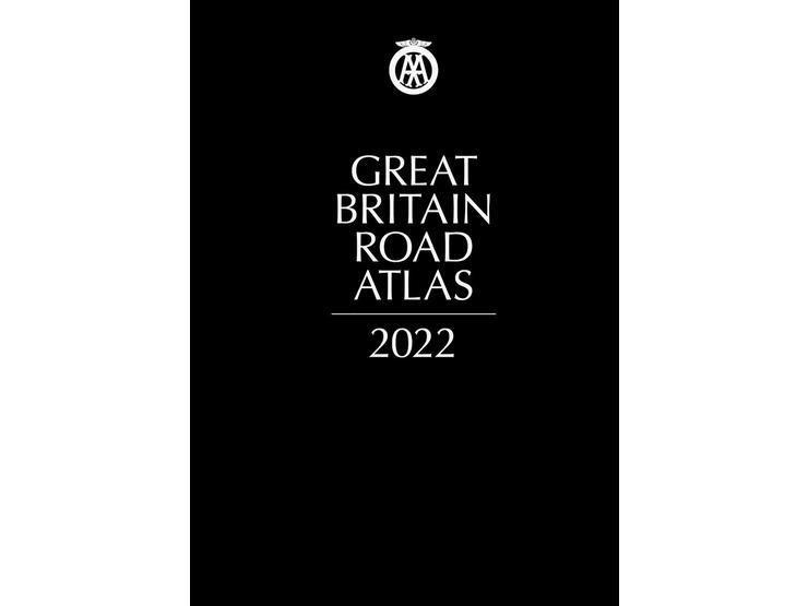 Great Britain Road Atlas 2022 lth