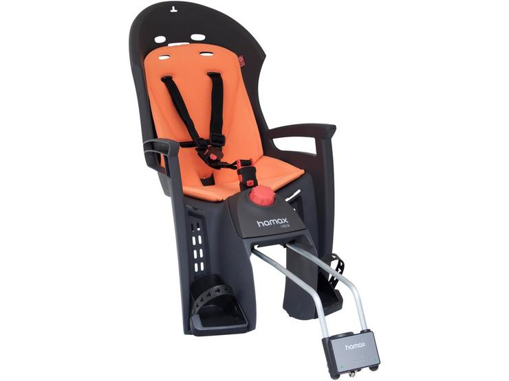 Hamax Siesta Child Bike Seat Grey/Orange