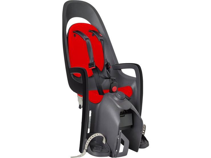 Hamax Caress Pannier Rack Seat Grey/Red