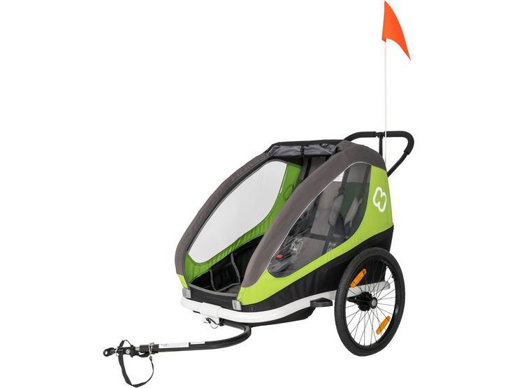 Hamax Traveller Child Bike Traile Green