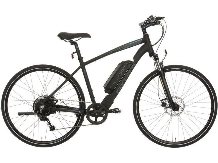 "Carrera Crossfire Electric Hybrid Bike 2.0 - 21"" - Test Ride"