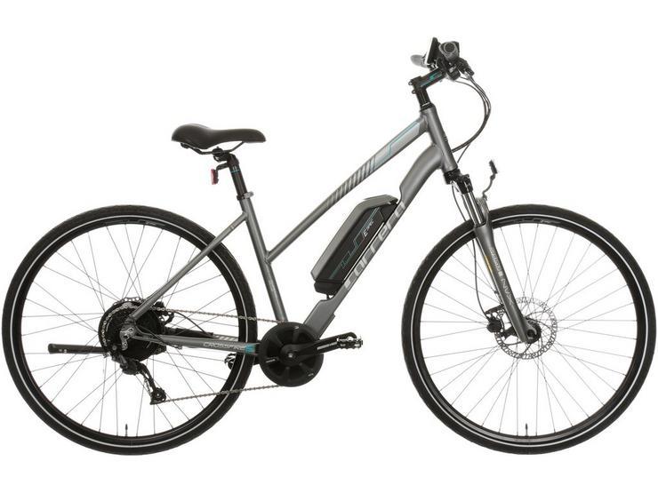 "Carrera Crossfire Electric Hybrid Bike 2.0 - 18"" - Test Ride"