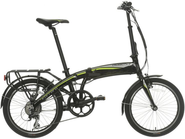 Carrera Crosscity Folding Electric Bike - Test Ride