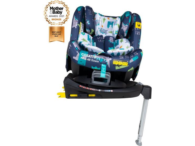 All in All Rotate Group 0+/1/2/3 Isofix Car Seat - Dragon Kingdom